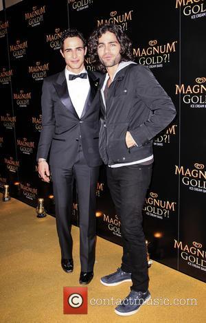 Zac Posen and Adrian Grenier