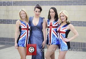 Jenna Smith, Ruth Lorenzo, Beth Tweddle and Brianne Delcourt