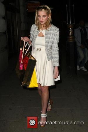 Helen Flanagan - Helen Flanaghan leaving the May Fair Hotel - London, United Kingdom - Friday 19th April 2013