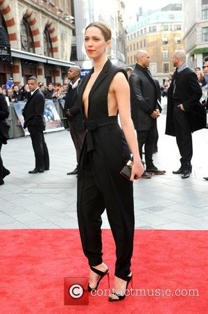 Rebecca Hall - Iron Man 3 UK premiere held at the Odeon Leicester Square - Arrivals - London, United Kingdom...