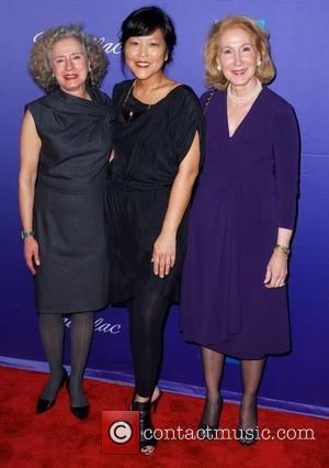Elaine Stritch, Chiemi Karasawa and Elizabeth Hemmerdinger