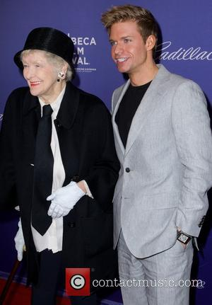 Elaine Stritch and Hunter Ryan Herdlicka