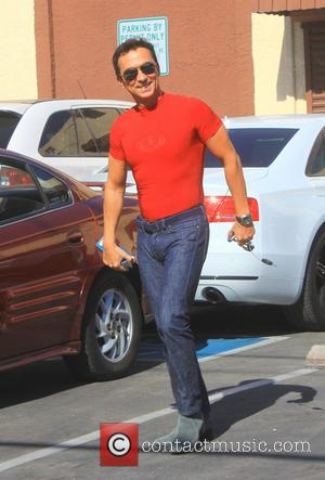 Bruno Tonioli - Celebrities outside the rehearsal studio for 'Dancing with the Stars' in Hollywood - Los Angeles, California, United...
