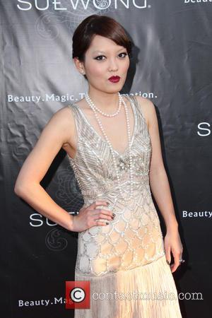 Hana Mae Lee - Sue Wong Fall 2013 Great Gatsby Collection Unveiling And Birthday Celebration - Los Angeles, CA, United...