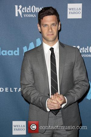 Justin Bartha - 24th Annual GLAAD Media Awards held at the JW Marriott - Arrivals - Los Angeles, CA, United...