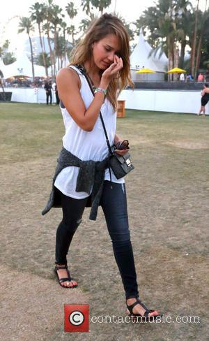 Jessica Alba - Celebrities at the 2013 Coachella Valley Music...
