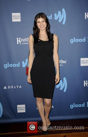 Alexandra Daddario - 24th Annual GLAAD Media Awards held at the JW Marriott - Arrivals - Los Angeles, CA, United...