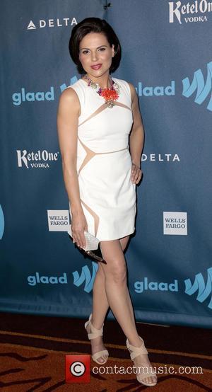 Lana Parrilla - 24th Annual GLAAD Media Awards held at the JW Marriott - Arrivals - Los Angeles, CA, United...