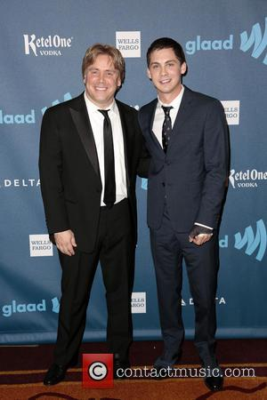 Stephen Chbosky and Logan Lerman