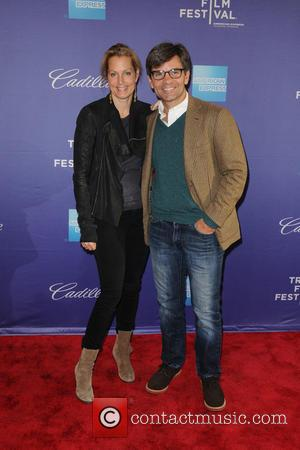 Alexandra Wentworth and George Stephanopoulos