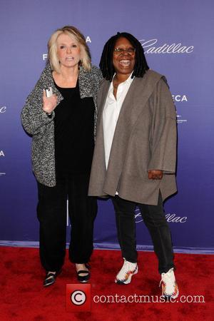Sheila Nevins and Whoopi Goldberg