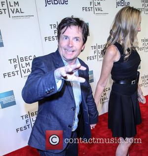 Tracy Pollen and Michael J. Fox - 2013 Tribeca Film Festival - 'Trust Me' - Arrivals - New York, NY,...