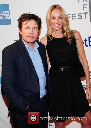 Michael J. Fox and Tracy Pollan - 2013 Tribeca Film Festival - 'Trust Me' premiere - Arrivals - New York...