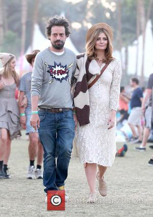Sebastian Knapp and Mischa Barton - Celebrities at the 2013 Coachella Valley Music and Arts Festival - Week 2 Day...