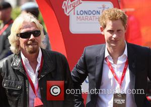 Prince Harry and Sir Richard Branson