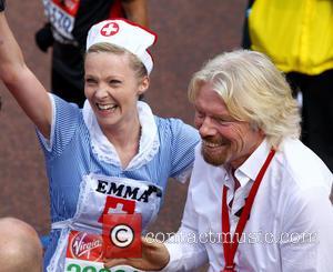 Richard Branson - The 2013 Virgin London Marathon - London, United Kingdom - Sunday 21st April 2013