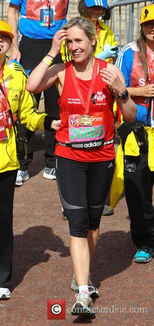 Sophie Raworth - The 2013 Virgin London Marathon - London, United Kingdom - Sunday 21st April 2013