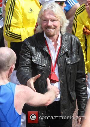 Sir Richard Branson - The 2013 Virgin London Marathon - London, United Kingdom - Sunday 21st April 2013