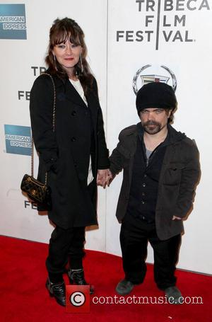 Emmy Gold and Peter Dinklage