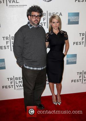 Neil Labute and Alice Eve