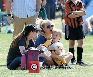 Britney Spears - Britney Spears at her sons soccer match