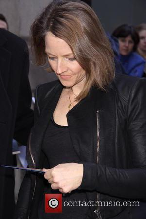 Jodie Foster - Broadway opening night for 'Macbeth' at the Ethel Barrymore Theatre - Arrivals - New York, United States...