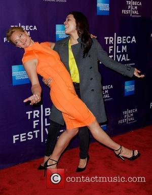 Zoe Bell and Rosario Dawson