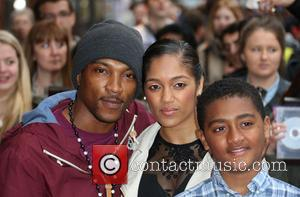 Ashley Walters, Natalie Williams and Guest