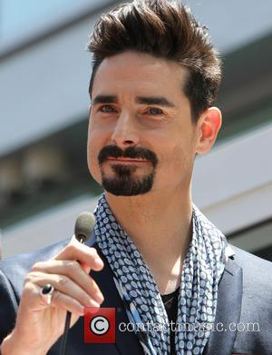 Kevin Richardson - The Backstreet Boys celebrate their 20-year career with a Star on the Hollywood Walk of Fame -...