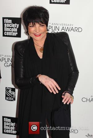 Liza Minnelli - 40th Anniversary Chaplin Award Gala honoring Barbra Streisand at Avery Fisher Hall at Lincoln Center - New...