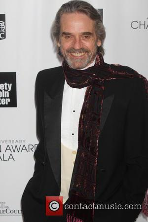 Jeremy Irons - 40th Anniversary Chaplin Award Gala honoring Barbra Streisand at Avery Fisher Hall at Lincoln Center - New...