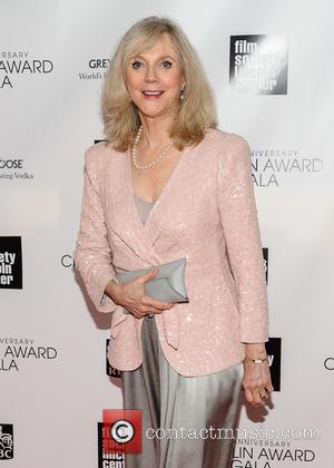 Blythe Danner - The Film Society of Lincoln Center's 40th Annual Chaplin Award Gala - New York, NJ, United States...
