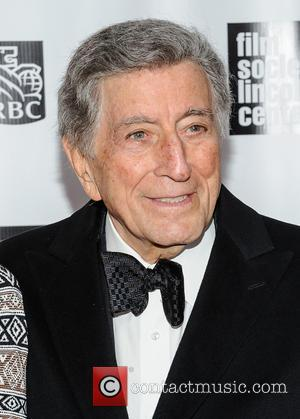 Tony Bennett - The Film Society of Lincoln Center's 40th Annual Chaplin Award Gala - New York, NJ, United States...