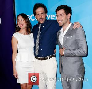 Bree Turner, Silas Weir Mitchell and David Guintoli