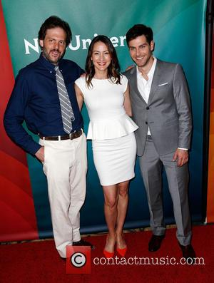 Silas Weir Mitchell, Bree Turner and David Guintoli