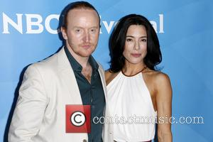 Tony Curran and Jaime Murray - Celebrities attend 2013 NBCUniversal Summer Press Day at The Langham Huntington Hotel and Spa....