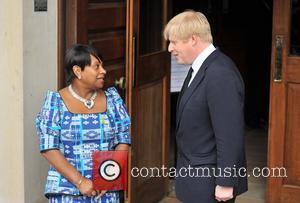 Doreen Lawrenc and Boris Johnson