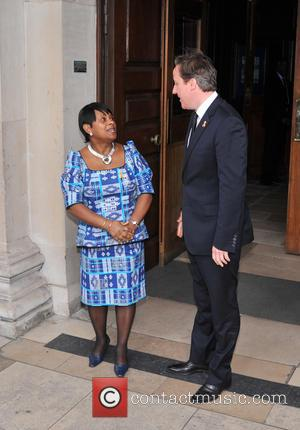 Doreen Lawrence and David Cameron