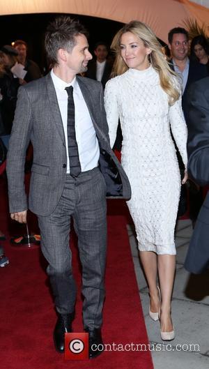 Matt Bellamy and Kate Hudson