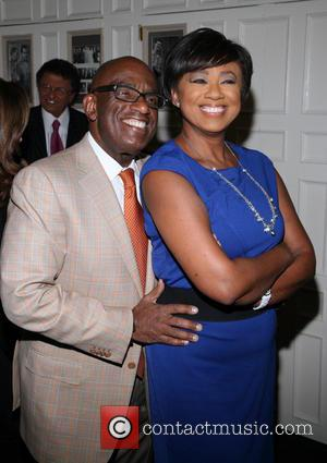 Al Roker and Janice Huff