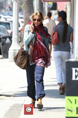 Natascha McElhone strolling on Abbot Kinney Boulevard in Venice - Los Angeles, CA, United States - Monday 22nd April 2013