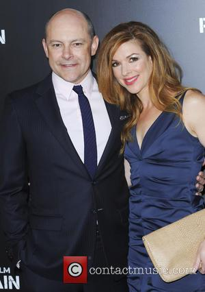Rob Corddry and Wife Sandy