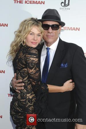 Katarzyna Wolejnio and Robert Davi
