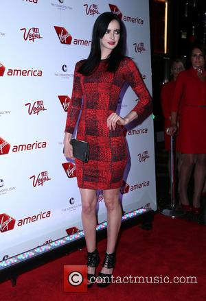 Krysten Ritter - Virgin America & Sir Richard Branson celebrate New flights with Star-Studded Launch Party at The Cosmopolitan of...