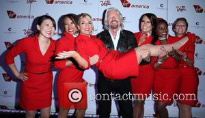 Sir Richard Branson - Virgin America & Sir Richard Branson celebrate New flights with Star-Studded Launch Party at The Cosmopolitan...