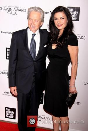 Michael Douglas - Streisand Honored with 40th Chaplin Award at...
