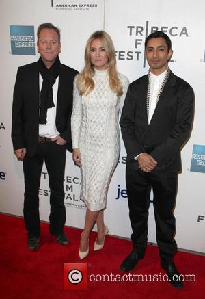 Kiefer Sutherland, Kate Hudson and Riz Ahmed