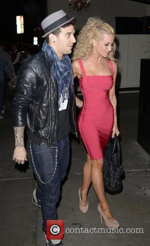 Kellie Pickler and Mark Ballas - Dancing With The Stars party at STK Restaurant - Los Angeles, California, United States...