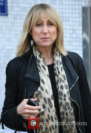 Carol McGiffin - Celebrities outside the ITV Studios - London, United Kingdom - Tuesday 23rd April 2013