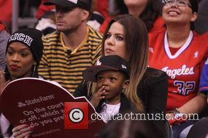 Khloe Kardashian - Celebrities at the Clippers Grizzlies NBA playoff...